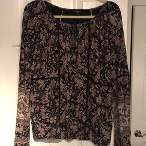 Lucky brand top multi colors